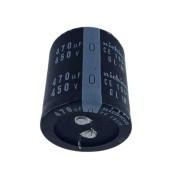 1 peça Capacitor Eletrolítico 470 Uf x 450 V Nichicon 105° GL (M)