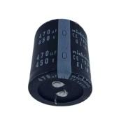 10 peças Capacitor Eletrolítico 470 Uf x 450 V 105 Graus Nichicon 105° GL (M)