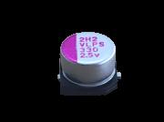 10 Peças Capacitor Eletrolítico SMD 330uF x 2,5V 6,3x4,2