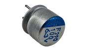 20 Peças Capacitor Eletrolítico Sólido 100uf X 6,3v 100