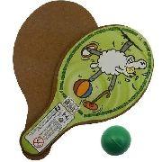 Raquete De Ping Pong Infantil Brinquedo Com Bola Novo