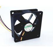 25 Peças Micro Ventilador 60x60 25mm Fan Cooler 12v