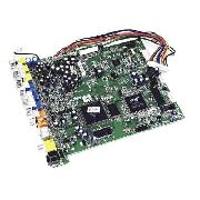 Placa Frontal Tv Semp Toshiba Xb1550 Nova Original