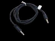 2 Peças Cabo Auxiliar Áudio P2 Alta Qualidade Com 1m P2 X P2