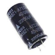 100 Peças Capacitor Eletrônico Epcos 2200uf X 35v 105 ° Polarizado