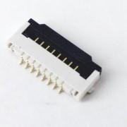 Conector trava para flat e teclado de notebook 8 vias 1,3 cm