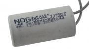 Capacitor para ventilador 2 fios 3 UF +-10% - 250VAC Tipo A NOG