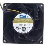Cooler AVC modelo 2B09238B48U DC48V 0.70A P037 90x90x38 mm