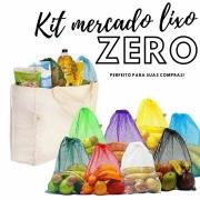 Kit Mercado LIXO ZERO! - Perfeito para suas compras!