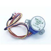 Motor ecox mp28j-a 12v dc com cabo e conector 5 pinos  Rohs