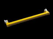 Slot Para Memória Desktop Pc Ddr3 Novo Unidade Amarelo