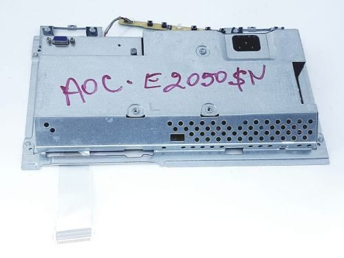 Placa Fonte + Video Flat E Botao Ajuste Monitor Aoc 2050sn