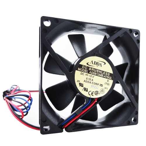 Ventilador Cooler Gabinete 80x80 X25 Modelo Ad0812mb-a76gl