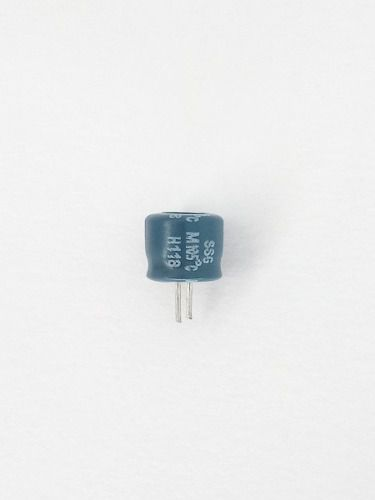 20 Capacitores Eletrolíticos Mini 100x16 6x6mm Novo 100 X 16