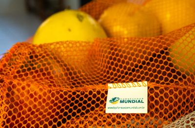 20 Saquinhos frutas legumes mercado sustentável reutilizáveis ecobags