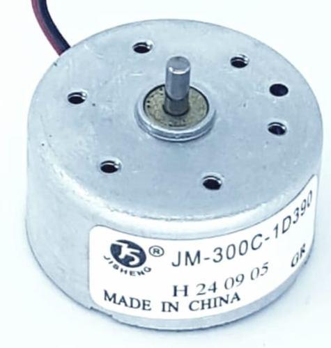 Motor Jm 300c- 1d390 2v Pequeno Carro Cd Energia Solar