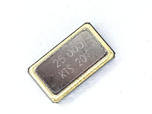10 Peças Cristal Smd 25mhz Zopf 30pp M