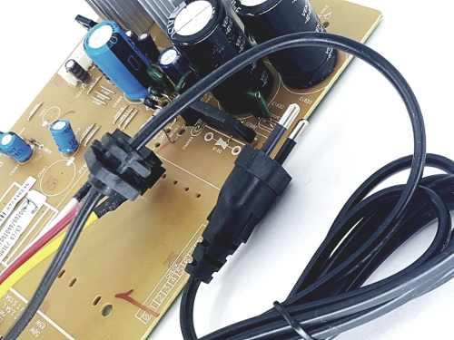 Placa Da Fonte Para Micro System Ms7330 Toshiba Original