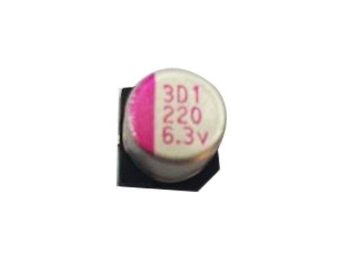 10 Peças Capacitor Eletrolítico Smd 220x6,3 6,3 Mm 220 3d1
