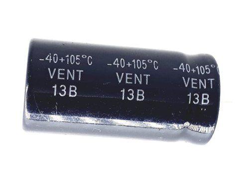 20 Peças Capacitor Eletrolítico 330 Uf X 200 V 105° Graus