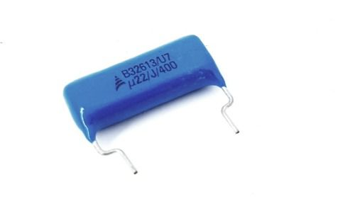 10 Peças Capacitor Polipropileno B32613 0,22 X 400v