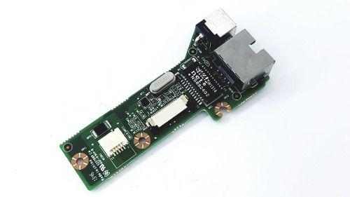Placa Jack Power + Rede  Login Mb40ia2