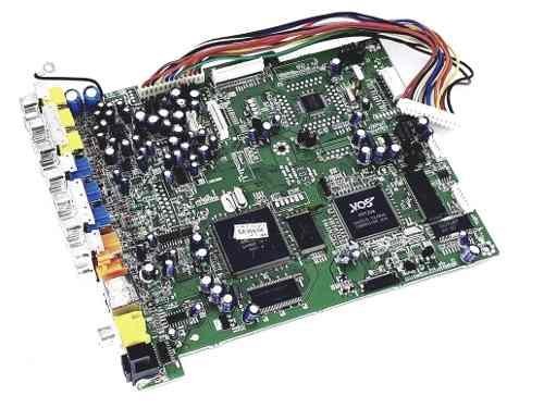 Placa Frontal Tv Semp Toshiba Xb1550 Nova Original