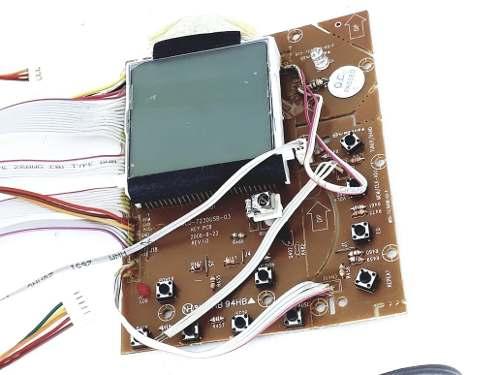 Placa Frontal Mc667mu Micro System Semp Oshiba Original