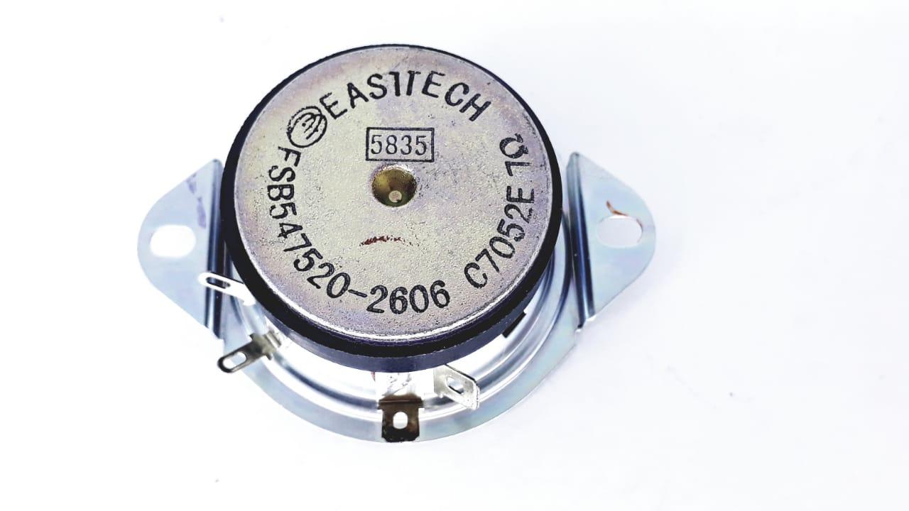 2 peças Alto Falante Tweeter 2 Polegadas 7 Ohms da marca Eastech  na cor preta modelo FSB547520