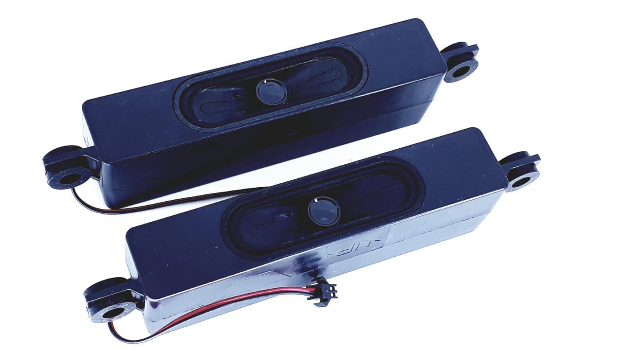 2 Peças de alto falante para TV de modelo DL4844 8 Ohms 8 W na cor preta