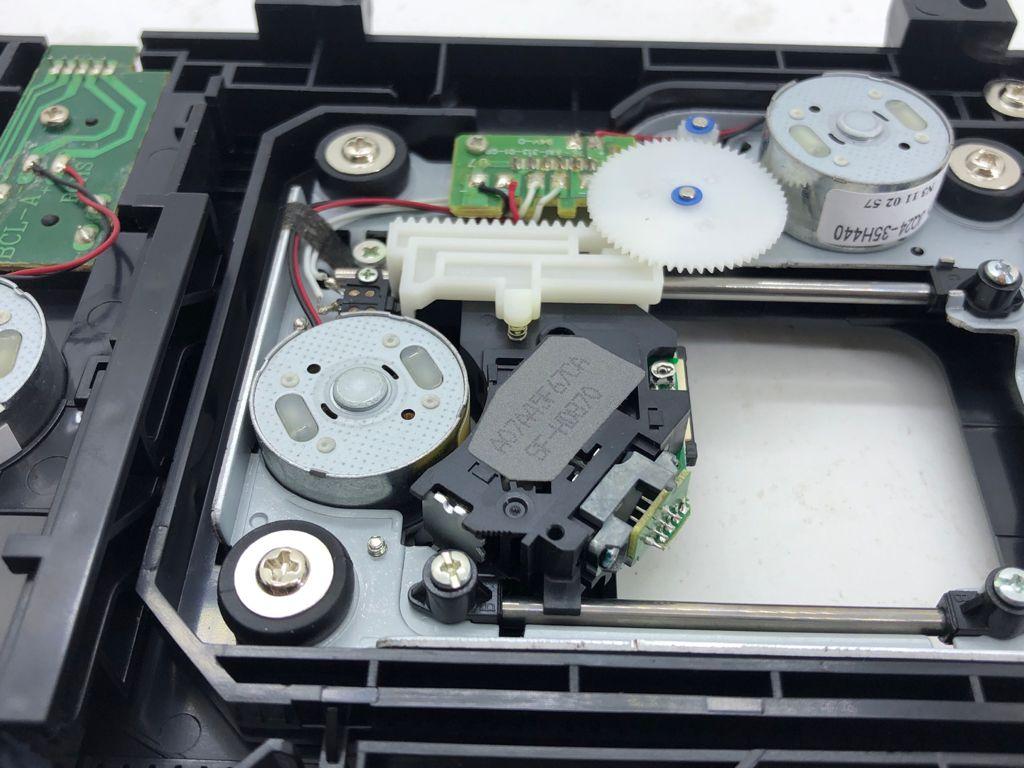 2 Peças Unidade Ótica Com Mecânica Mecanismo Sf-hd870 Sfhd870 Nova