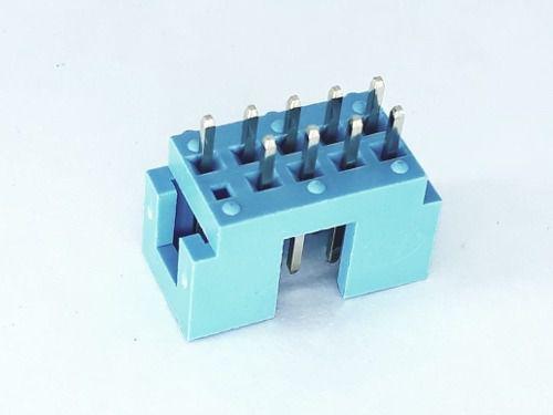 10 Peças Conectores Para Ligar Usb Placa Computador 9 Pinos