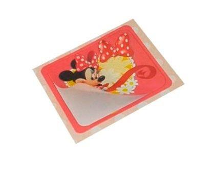 Adesivo da Disney personagem Minnie Mouse Infantil Festa Infantil Lembrancinha