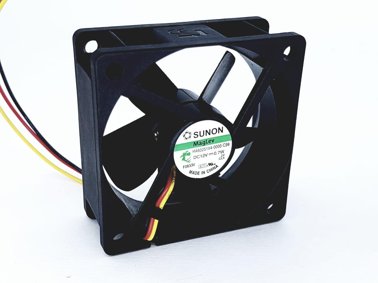 30 Peças Micro Ventilador 60x60 25mm Fan Cooler 12v