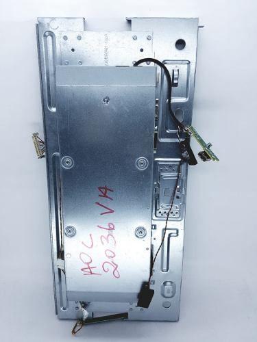 Placa Da Fonte Aoc E2036va 2036 Retirado Monitor Sem Tela