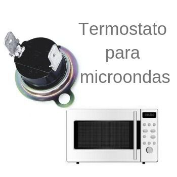 2 Peças Termostato Para Microondas Pw Zn 2217