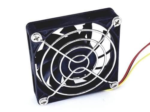 Cooler Microventilador 70x70x15mm 12v 0,15a Cabo 25cm 70x70