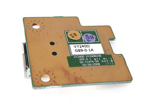 Placa Usb Notebook Is-1462-vy240d-g89-1a Nova