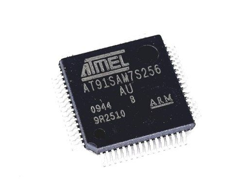 Ci Circuito Integrado Atmel At91sam7s256 - Au Novo