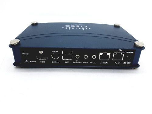 Digital Media Player Cisco Dmp 4310g S2k9 Na Caixa Com Cabos