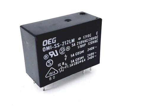Rele Oeg Omi Ss 212lm 12v 5a Tv Eletro Para Reparo