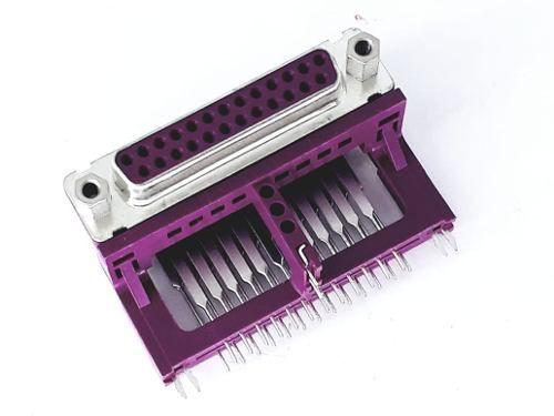 Conector Db25 Femea Para Reparo Placa De Computador Foxconn