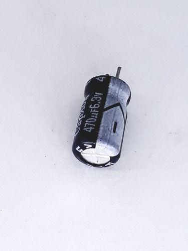 50 Peças Capacitor Eletrolitico 105º 470uf X 6,3v