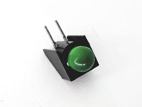 10 Peças De Led Com Soquete 3mm Verde
