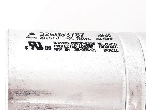 Capacitor Eletrolítico Ar Condicionado 20+2,5uf 380vac 2,5u