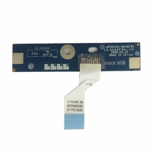 Placa Botão Power Ls-4244p - Rev: 1.0 Notebook Intelbras