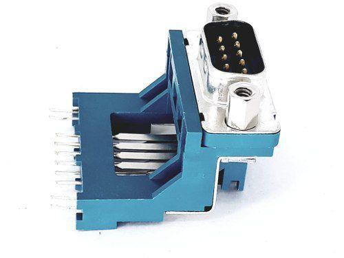 10 Peças Conector Db9 Macho Para Serial Para Reparo