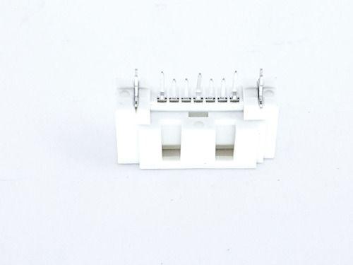 10 Peças De Conector Sata Branco Para Placa Mãe Novo