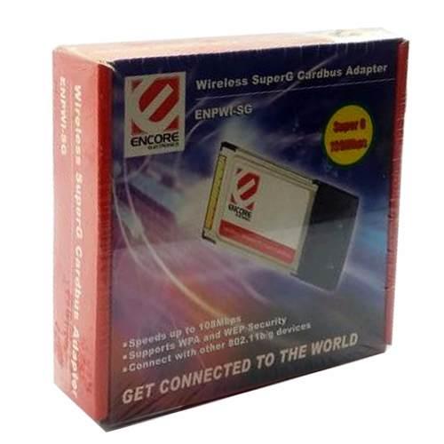 Adaptador Wireless Superg Encore Enpwi-sg Novo Na Caixa