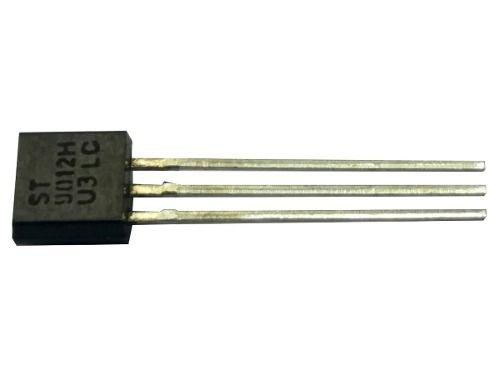 10 Peças Transistor 9012-h 9012 H Novo St U3lc 3 Pinos